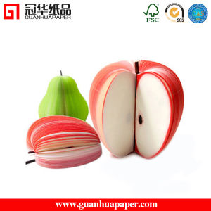 Funny Die Cut Promotional Fancy Fruit 3D Memo Pad pictures & photos
