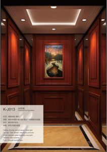 Aksen Wooden Decoration Passenger Elevator (K-J013)