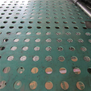 PVC Coated Sqare Hole Perforated Sheet