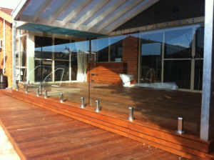 Stainless Steel Frameless Glass Balustrade Designs pictures & photos