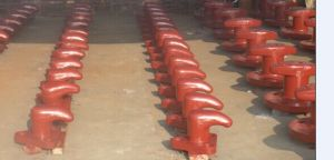 Marine R Type T Head Dock Bollard