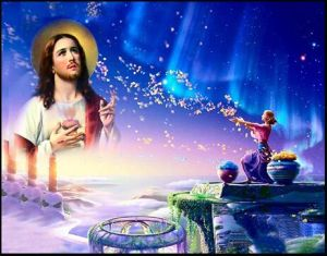 Wholesale 2017 Latest LED Light Oil Paintings on Canvas, Jesus pictures & photos