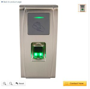 Finger Print Biometric Access Control with Outdoor Fingerprint Scanner AC300