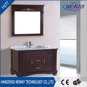 Modern Floor Standing Wood Lowes Bathroom Vanity Cabinets
