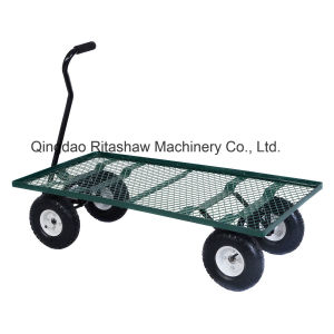 Wagon Garden Cart Heavy Duty Cart Yard Gardening