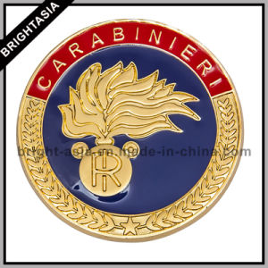 Custom Made Metal Pin Badge for Army Emblem (BYH-11125) pictures & photos