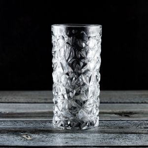 Cut Engraved Wine Glass Cup Wine Glass (P14673)