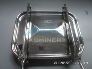 470mm*760mm Outward Stainless Steel Rectangular Manhole Cover with Pressure (ACE-RK-19D) pictures & photos