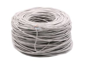 24AWG Cable UTP Cat 5e for Indoor 0.5mm Bare Copper pictures & photos