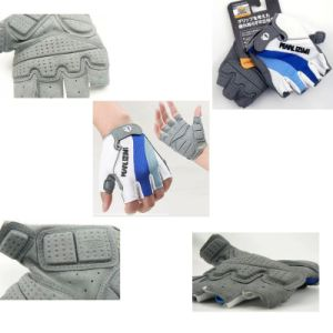 Hotsale Half Finger Cycling Glove Shockproof Glove pictures & photos