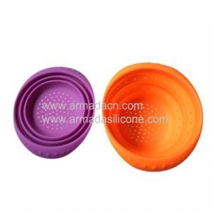 Silicone Collapsible Strainer (AI-K604)