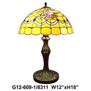 Tiffany Table Lamp (G12-609-1-8311)