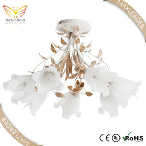 Chandelier Light with Antique White Glass Newest lighting (MX7376)