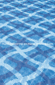 Glass Mosaic Pattern Swimming Pool Mosaic (HSP327) pictures & photos
