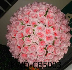 China artificial silk kissing rose flower ball for wedding artificial silk kissing rose flower ball for wedding decoration mightylinksfo