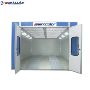 Efficient Insulation Spray Booth with EPS/Rockwool Panel (PC14-S200) pictures & photos
