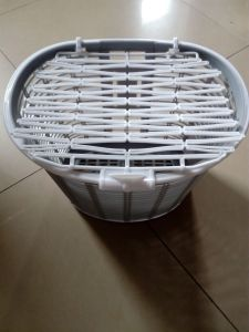 Weave Plastic Basket pictures & photos