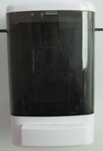 Wide Varieties 1000ml Manual Black Plastic Soap Dispenser