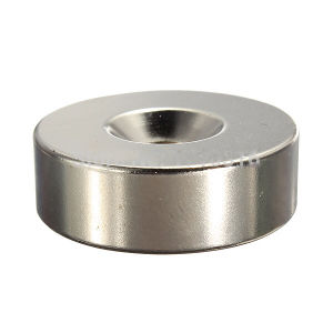 Best Price Super Strong Ring Loop Countersunk Magnet 30 X 10 mm Hole 6 mm Rare Earth Neo Neodymium Neodymium