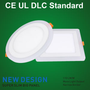 18W Double Color Round LED Surface Panel Light