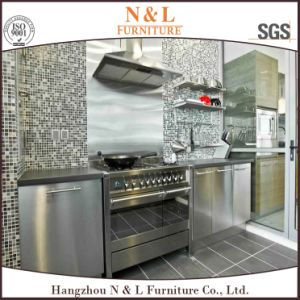 304 Stainless Steel Kitchen Cabinets