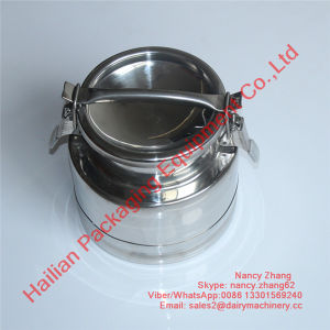 Small Stainless Steel Airtight Milk Drum with Lid pictures & photos