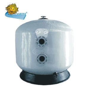 Economical Side-Mount Fiberglass Commercial Sand Filter for Pool and Sauna