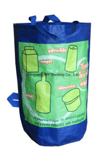 Reusable Laminating Round Shape PP Woven Shopping Bag pictures & photos