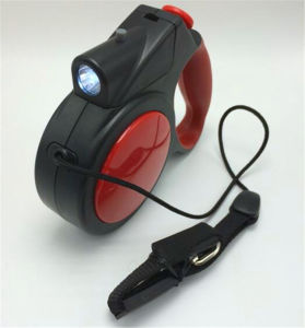 Lighted Retractable Dog Leash pictures & photos