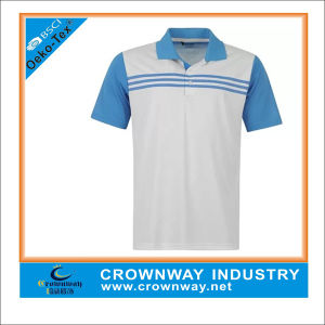 Golf Boy′s Junior in Digital Polo Shirt with High Quality pictures & photos