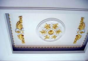 Polyurethane Room Decorative Ceiling Medallions, Hand Painting pictures & photos