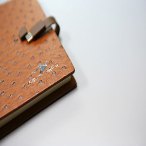 PU Leather with Button Notebook Printing pictures & photos