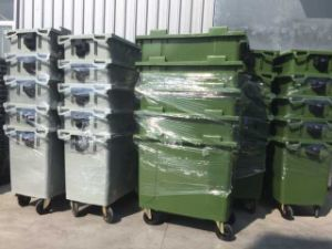 Big Volume Plastic/HDPE Outdoor Waste/Garbage Container/Bin 660L pictures & photos