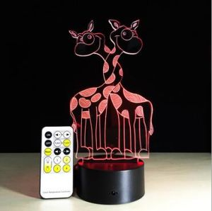 Creative Deer RGB LED Table Lamps Night Light