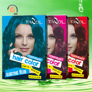 7g*2 House Use Temporary Hair Color with Copper Color pictures & photos