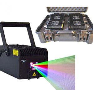 Full Color RGB 4000MW Laser Projector pictures & photos