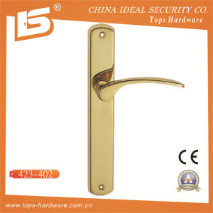 High Quality Brass Door Lock Handle-423402 pictures & photos
