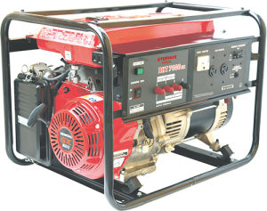 Famous Style Honda Engine Clip on Generator (HW7000EH) pictures & photos