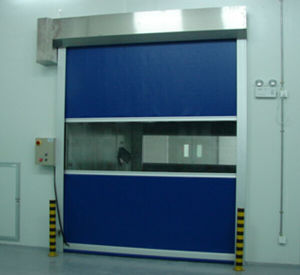 Automatic High Speed Rolling Shutter Industrial Garage Door pictures & photos