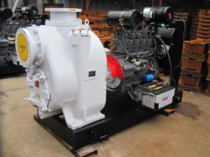 Trash Non Clogging Self-Priming Diesel Water Pump pictures & photos