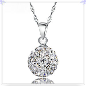 Crystal Necklace Fashion Jewellery 925 Sterling Silver Jewelry (NC0074)