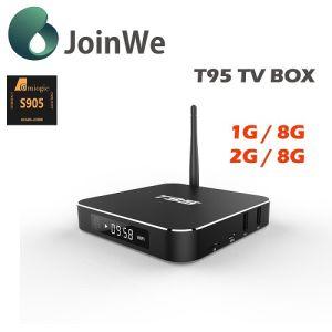 Metal Casing Quad Core Amlogic S905 T95 Ott TV Box