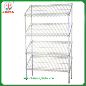 Chrome Plated Good Quality Strong Metal Shelves (JT-F06) pictures & photos