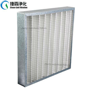 High Temperature Fiberglass Pleated Filter pictures & photos