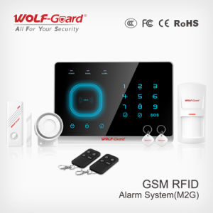 868MHz/433MHz Wireless Alarm System GSM Home Automation Alarm Security System with RFID pictures & photos