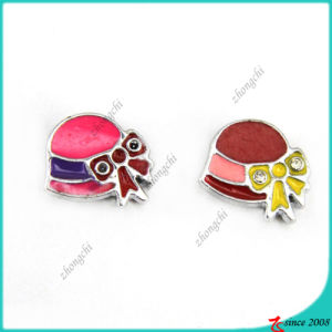 Fashion Girl Hat Slider Charms for Fashion (SC16040942)