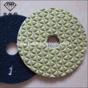 Dd-3 Diamond 5 Step Polishing Pad