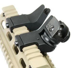 Ar15 Ar-15 Front Rear Sight 45 Degree Offset Rapid Transition Backup Iron  Sight Rapid Rifle Rts Sight