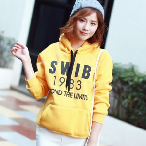 Factory Price Custom Logo Cotton Hoody pictures & photos