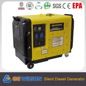 5kw Silent Diesel Generator with Electric Start pictures & photos